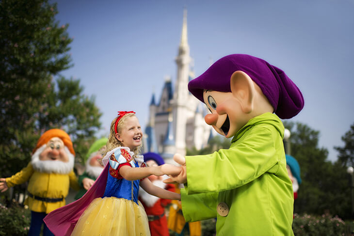 10-Day Disney Flexible Date Base Ticket