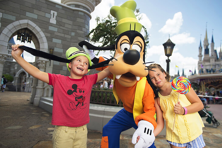 10-Day Disney Flexible Date Ticket with Park Hopper® Plus Option