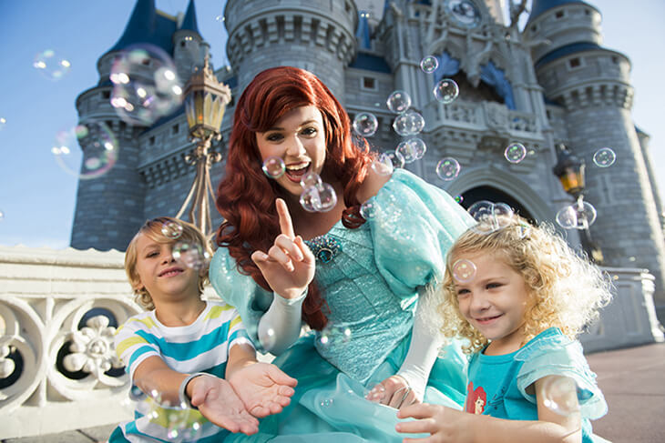 4-Day Disney Flexible Date Base Ticket - with Extra Day