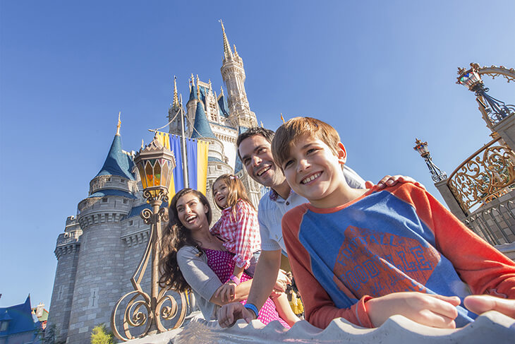 4-Day FL Resident Disney Flexible Date Theme Park Base Ticket with Water Park and Sports Option