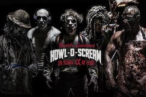 Busch Gardens Tampa: Howl-O-Scream - Non-Peak