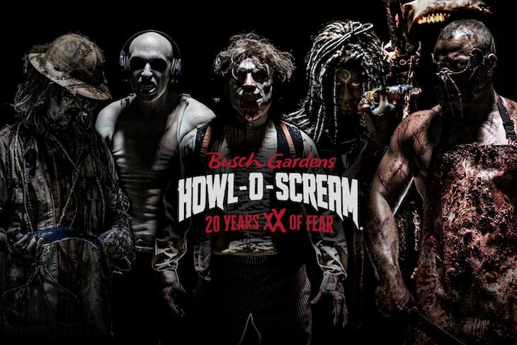 Busch Gardens Tampa: Howl-O-Scream - Peak