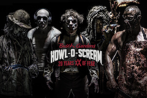 Busch Gardens Tampa: Howl-O-Scream - Peak