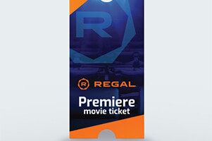 Regal: Premiere Print-at-Home Movie E-Ticket