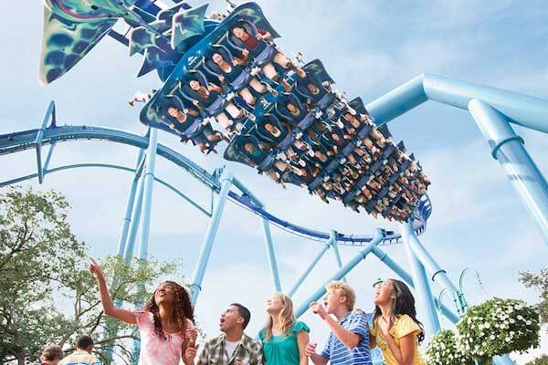 SeaWorld Parks: Three Park Ticket with All Day Dine