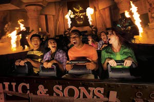 Universal 4-Day Park-to-Park Ticket with Volcano Bay Water Theme Park (E-Ticket) (PROMO)