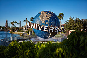Universal's 3-Park 5-Day Park-to-Park Vacation Package Promo Ticket Dated