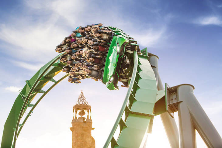 Universal 4-Day Base Ticket with Volcano Bay Water Theme Park (PROMO)