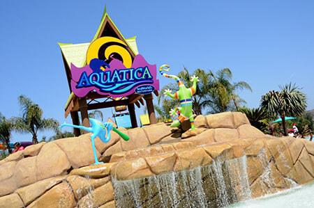 Aquatica San Diego Water Park Single Day + Kids Free Ticket
