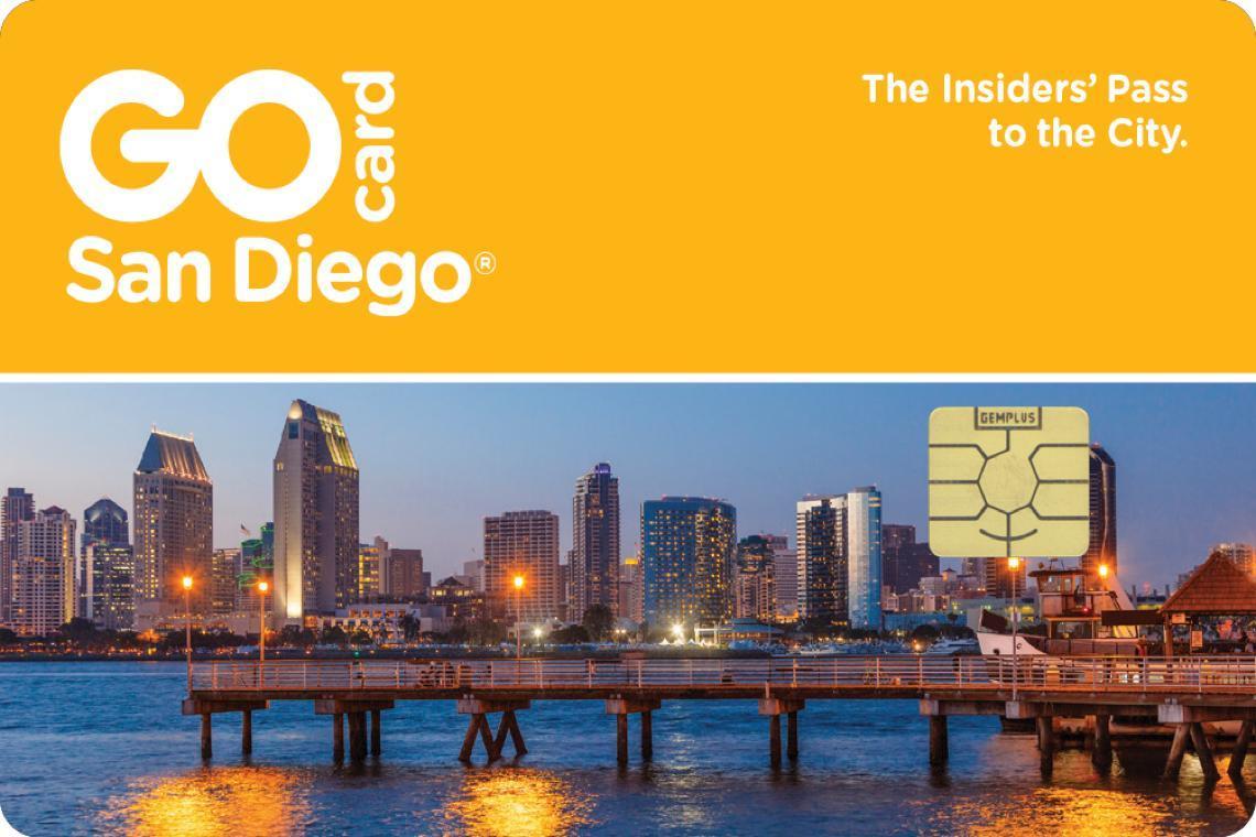 San Diego 2 Day Go Card