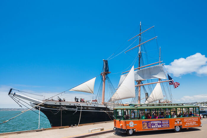 Old Town Trolley Tour of San Diego 1-Day Ticket (Gold Pass)