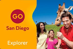 San Diego Explorer Pass - 4 Attractions Combo