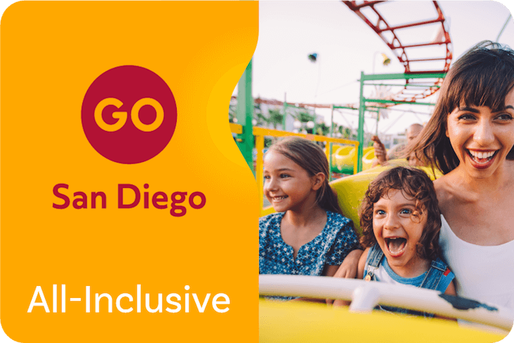 San Diego 5 Day Go Card (Includes Premium Attraction)