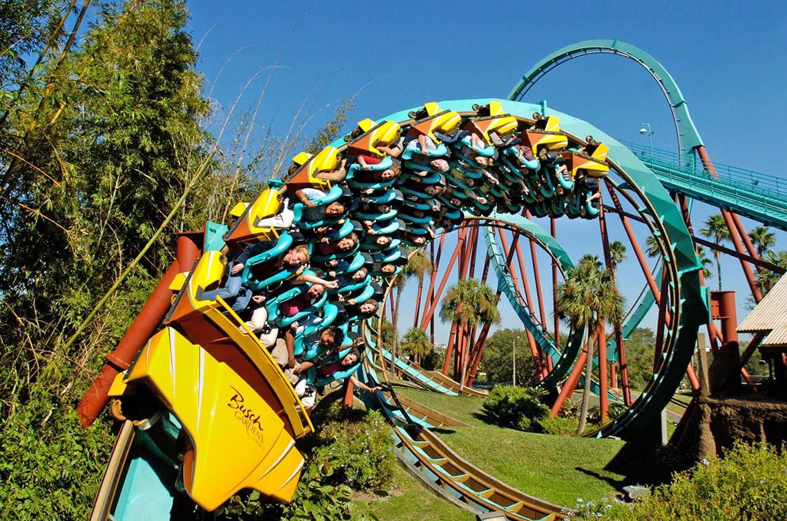 SeaWorld Orlando & Busch Gardens Tampa 2-Park One Year Pass