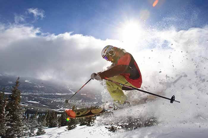 Demo Skis with Helmet and Boots