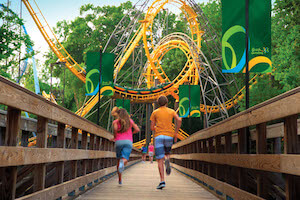 Busch Gardens Williamsburg and Water Country USA Fun Card