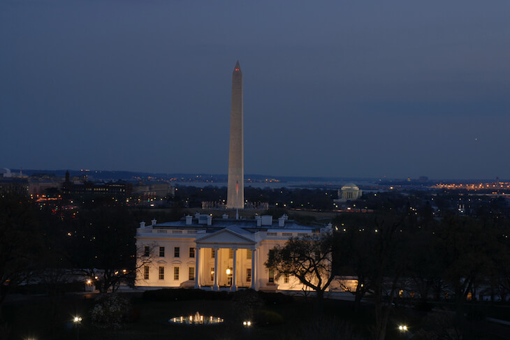 DC Monuments by Moonlight