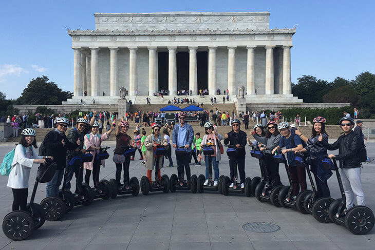 Unlimited Biking: Sites by Segway Tour