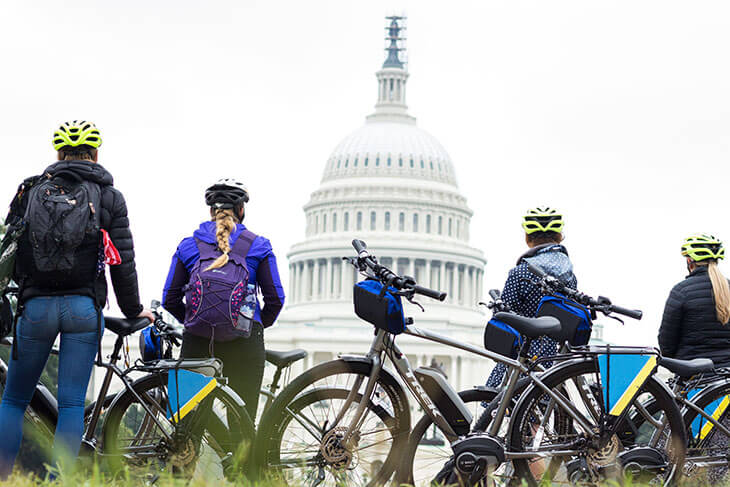 Unlimited Biking: Capital Sites Bike Tour