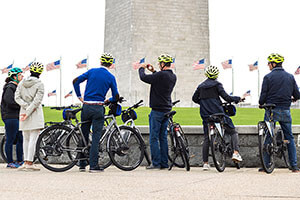 Unlimited Biking: Monuments and Memorials Bike Tour
