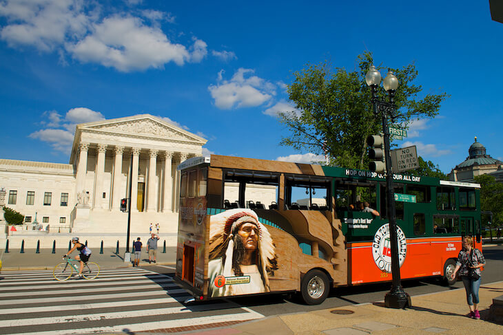 Washington DC Old Town Trolley Tour 1-Day (Silver Pass) Ticket