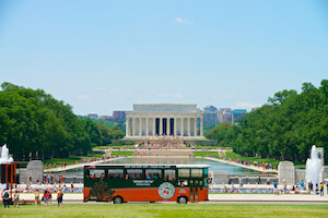 Washington DC Old Town Trolley Tour 1-Day (Gold Pass) Ticket