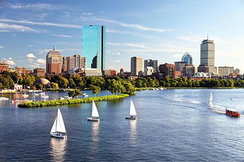 Boston Harbor boats