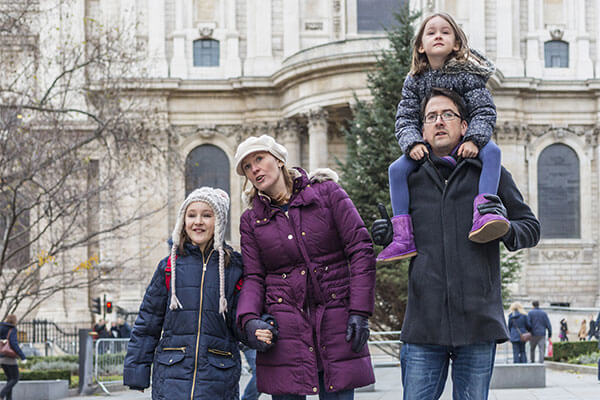 London family sightseeing