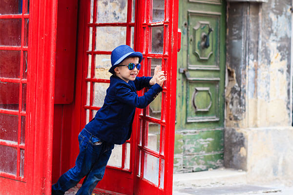 London red phonebooth