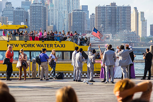 New York City water taxi