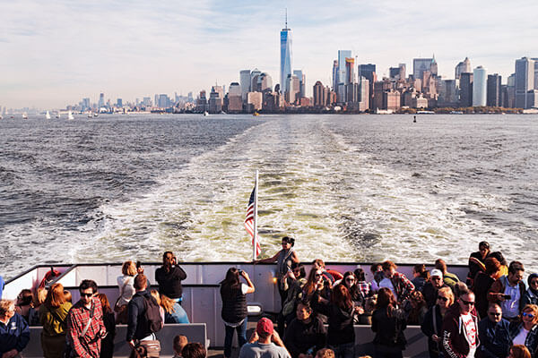 New York City boat tour tickets