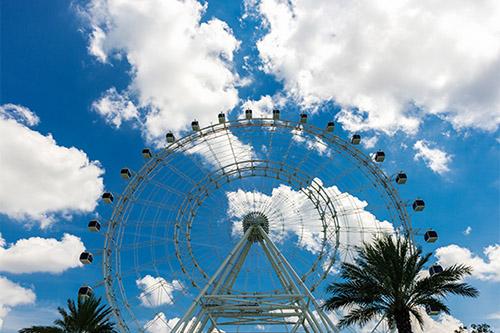 Orlando Eye great views