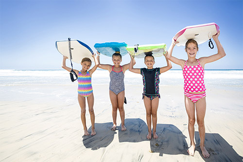 San Diego kids surfing lessons