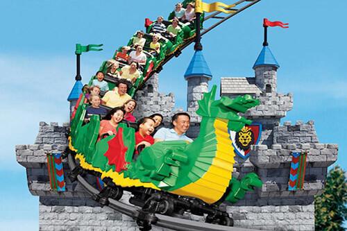 San Diego Legoland roller coaster
